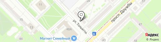 Ариант на карте Новокузнецка
