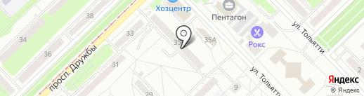 Доктор Оптик на карте Новокузнецка