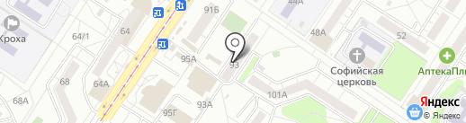 Магазин штор на карте Новокузнецка