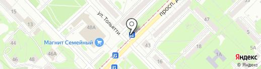 Беляевские продукты на карте Новокузнецка