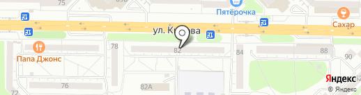 Энергия Вкуса на карте Новокузнецка