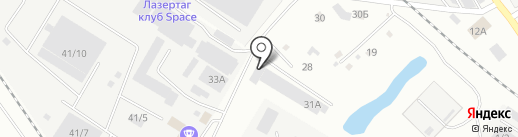 Хит Машинери на карте Новокузнецка