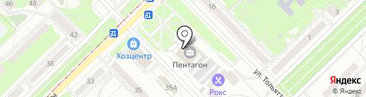 АвтоСоюз на карте Новокузнецка