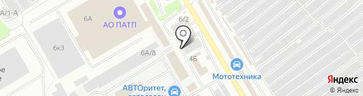 Авто Вектор на карте Новокузнецка