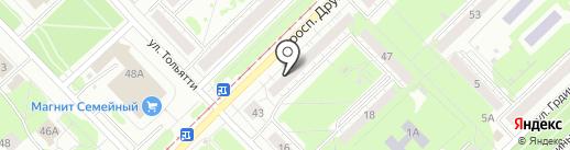 Декоративная штукатурка 42 на карте Новокузнецка