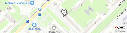 OSH на карте Новокузнецка