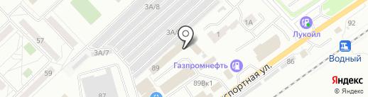 Уют на карте Новокузнецка