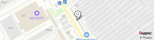 Авточехлы-NK на карте Новокузнецка