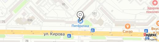 Банкомат, Почта Банк, ПАО на карте Новокузнецка