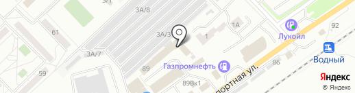 ПРОФ-НК на карте Новокузнецка