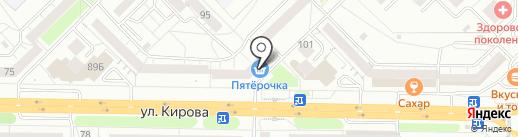 Пятерочка на карте Новокузнецка