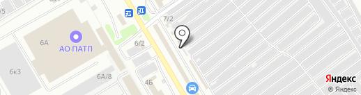 Магазин автоинструментов на карте Новокузнецка