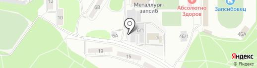 Магнат на карте Новокузнецка