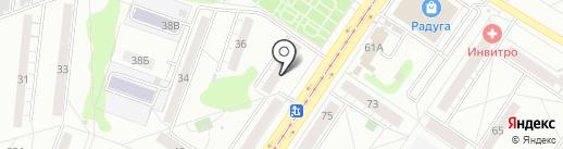 Свежая выпечка на карте Новокузнецка