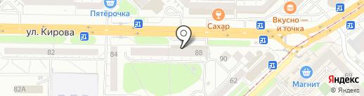 Гастроном №1 на карте Новокузнецка