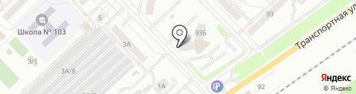 Магазин разливного пива на карте Новокузнецка