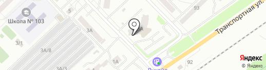 ПОРТ3 на карте Новокузнецка