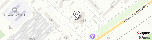 Партерра на карте Новокузнецка