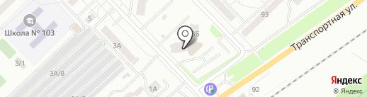 Апрель на карте Новокузнецка