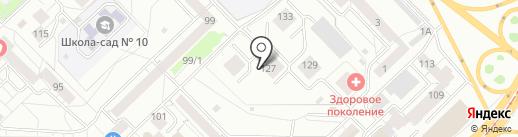 Индиго Инк на карте Новокузнецка