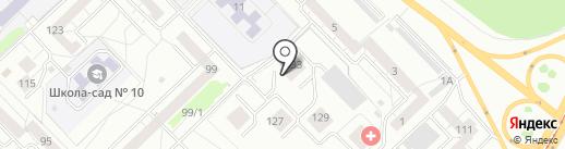 ElemeNt на карте Новокузнецка