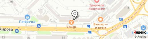 Банкомат, Альфа-банк на карте Новокузнецка