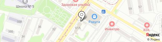 Конфетки бараночки на карте Новокузнецка