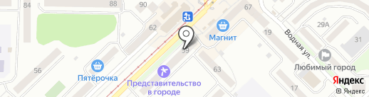 Городская оконная служба на карте Новокузнецка