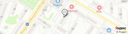 Ажур на карте Новокузнецка