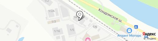 Решке Рус на карте Новокузнецка