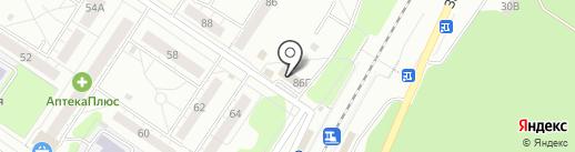 24 на карте Новокузнецка