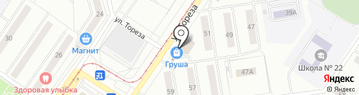 Банкомат, Банк Уралсиб, ПАО на карте Новокузнецка