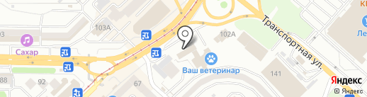Страж на карте Новокузнецка