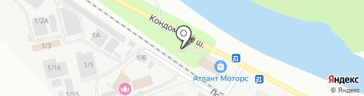STELS на карте Новокузнецка