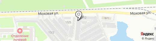 Абба на карте Новокузнецка