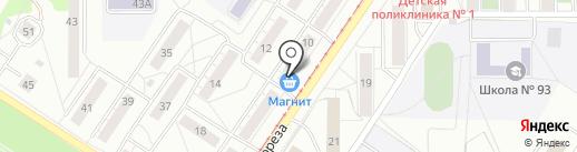 Шпили & Вилли на карте Новокузнецка