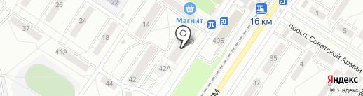 Банкомат, Банк ВТБ 24, ПАО на карте Новокузнецка