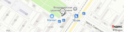 Магазин игрушек на карте Новокузнецка