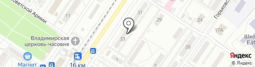 Центурион СБ на карте Новокузнецка