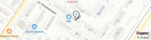 Магазин женской одежды и нижнего белья на карте Новокузнецка