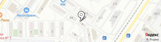 Лека на карте Новокузнецка