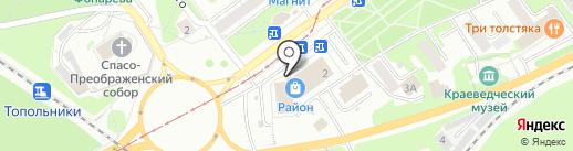 Банкомат, Газпромбанк на карте Новокузнецка