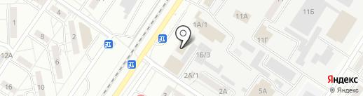 Бакор на карте Новокузнецка