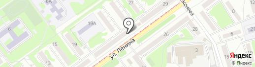 Ратник на карте Новокузнецка