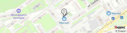 Ассорти на карте Новокузнецка