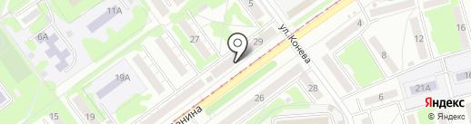 Виола на карте Новокузнецка