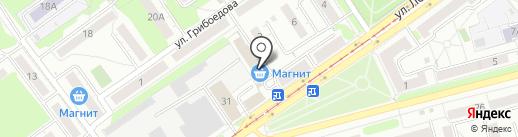 Наша пряжа на карте Новокузнецка