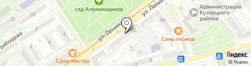 Умный ребенок на карте Новокузнецка