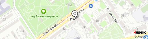 Швейная мастерская на карте Новокузнецка