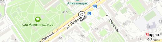 Цветочный мир на карте Новокузнецка